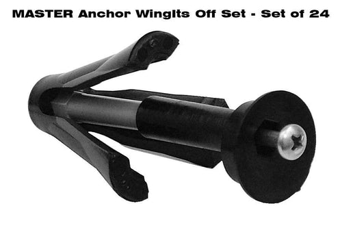 MASTER ANCHOR W/OFF SET FACE PLATE - BULK PACK (24 ANCHORS)