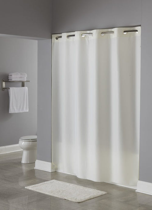 Hookless NYLON Fabric Shower Curtain - Case of 12