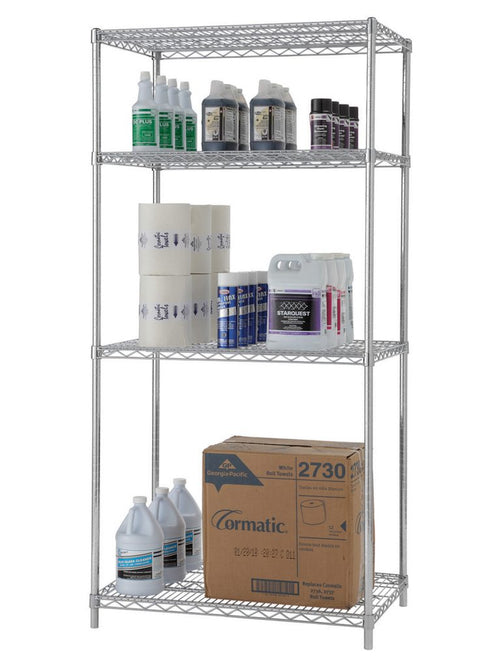 Stationary Shelving Kits