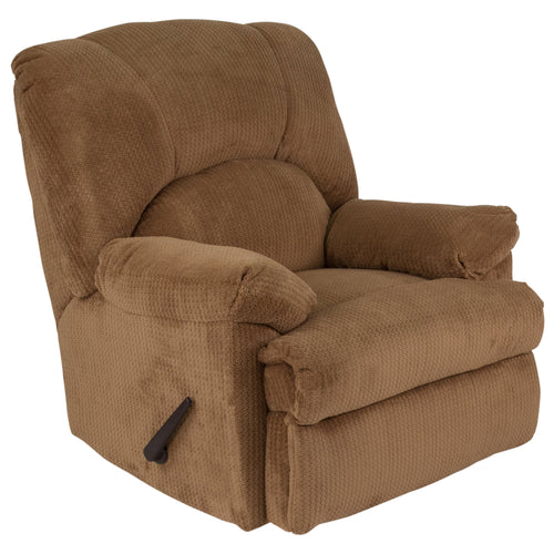 Contemporary Feel Good Camel Microfiber Rocker Recliner [WA-8500-268-GG]