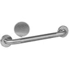 "STANDARD GRAB BAR 1.25"" OD DIAMOND KNURLED SATIN (BRUSHED NICKEL) S/S"