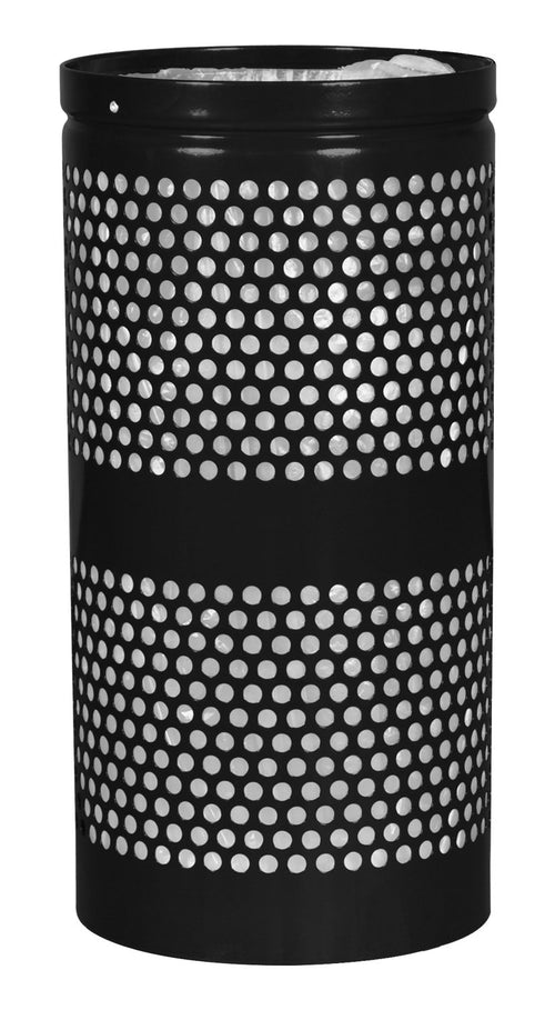 Landscape Series Perforated Waste Receptacle