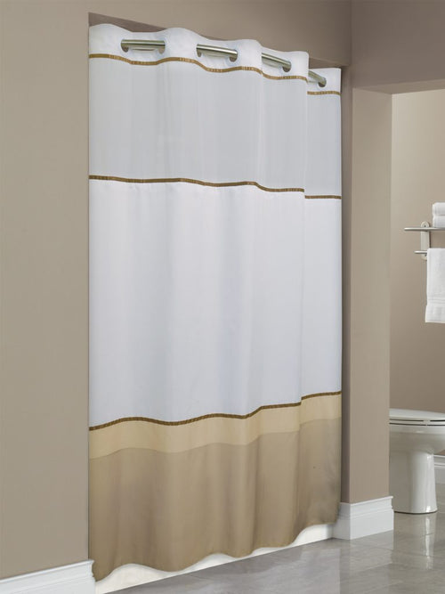 Hookless WELLINGTON Fabric Shower Curtain - Case of 12