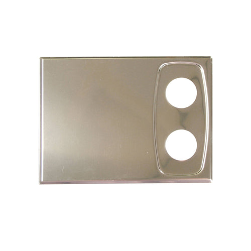 CRESCENT COVER PLATE (SET OF 2)