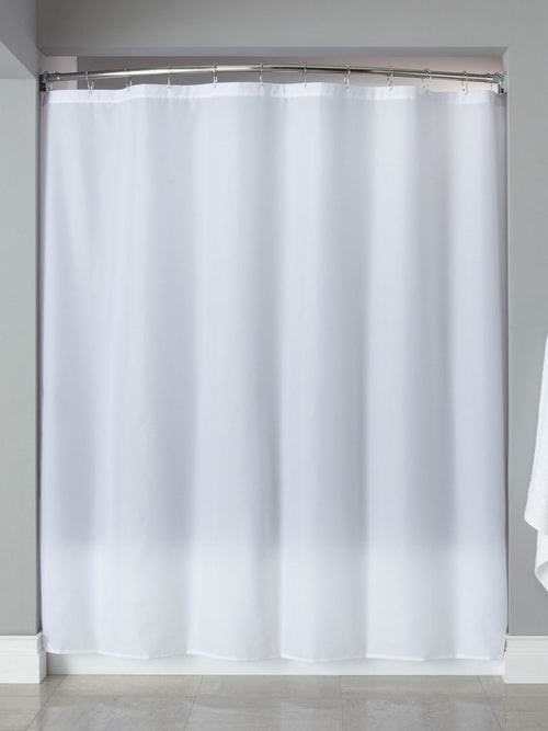 Hooked 210 NYLON FABRIC Shower Curtain - Case of 12