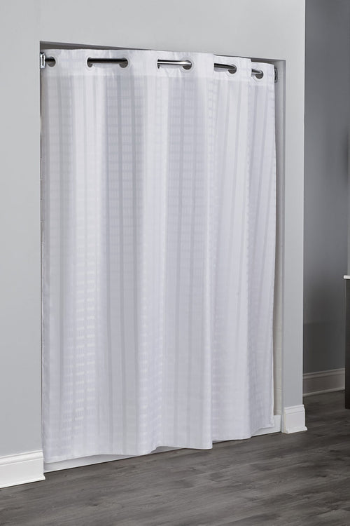Hookless LITCHFIELD Fabric Shower Curtain - Case of 12