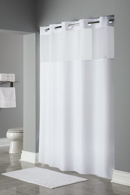 Hookless MYSTERY Fabric Shower Curtain - Case of 12