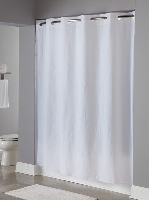 Hookless 8 GAUGE VINYL PIN DOT Shower Curtain - Case of 12