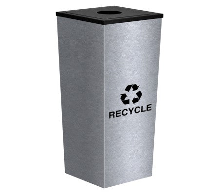 Metro Collection Single Stream Tapered Receptacle