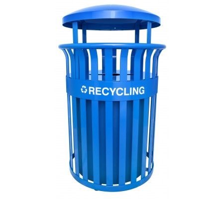 Streetscape Classic Outdoor Recycling Receptacle