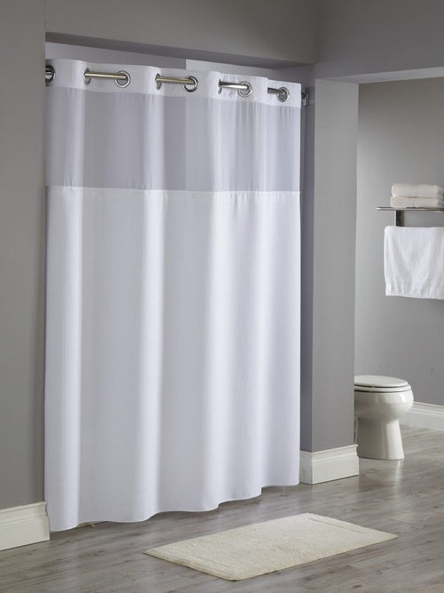 Hookless REFLECTION Fabric Shower Curtain - Case of 12