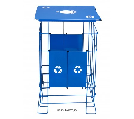 Clean Grid EXL Fully Collapsible Recycler Receptacle