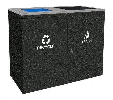 Ellipse Collection Indoor Two Stream Receptacle