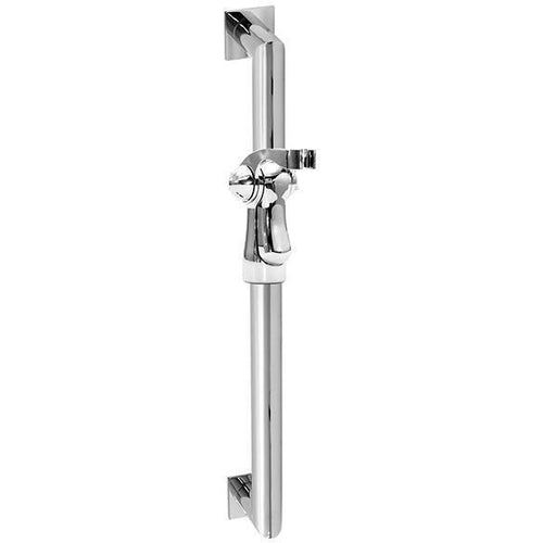 "INFINITE TRANSITIONAL SLIDE BAR ASSEMBLY - INCLUDES 24"" GRAB BAR AND HAND SHOWER HOLDER"