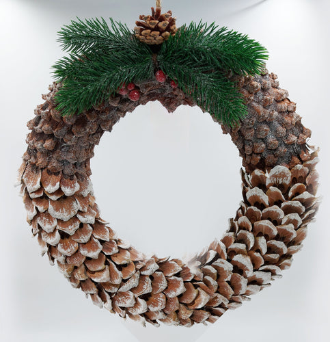 Large Christmas wreath unpersonalised style 3