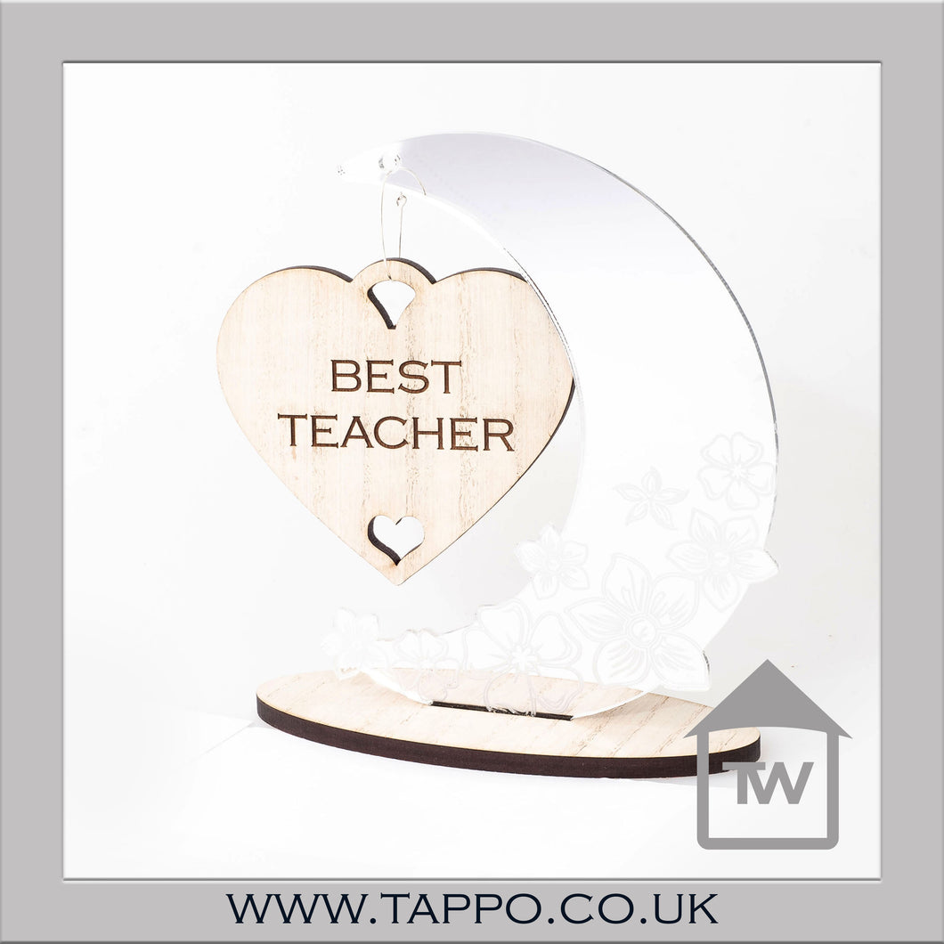 Best Teacher Moon and Heart