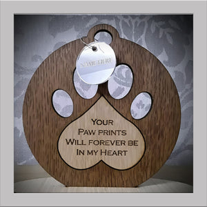 Paw prints Keepsake