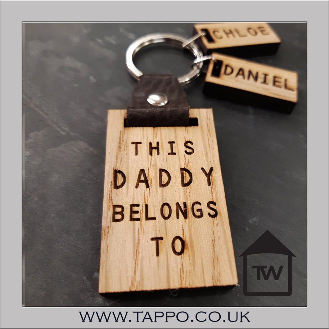 This DAD/GRANDAD/STEPDAD ETC belongs to Keyring