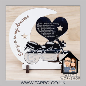 Motorbike design See you in my dreams