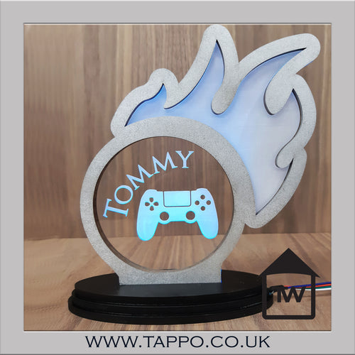 Boys USB light gamer design personalised