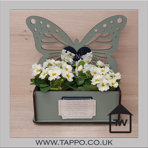 Outdoor Butterfly Planter