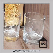 Gold silver and black Gift box with set of 2 Glasses