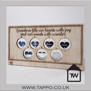 Personalised family signs