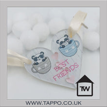 Best Friends Keyring 2 piece