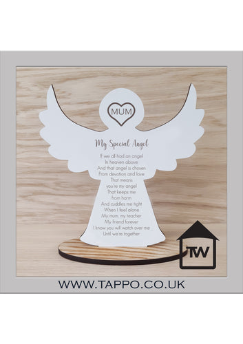 MUM My Special Angel Bereavement memorial Keepsake