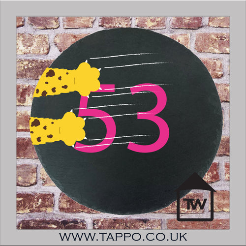 House Numbers sign - CAT DESIGN  4