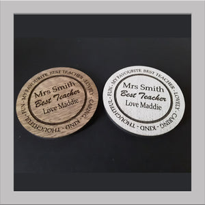 Teacher Coasters