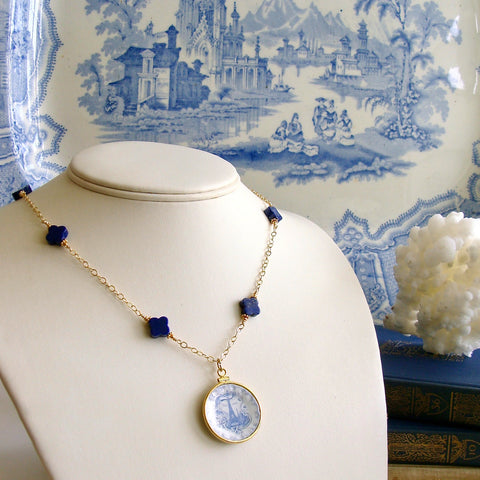 1-china-doll-petite-necklace-lapis-blue-white-miniature-plate