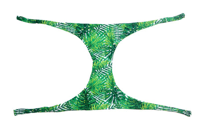 Hand Stitched Palm Trees Print - Jini® bikini piece