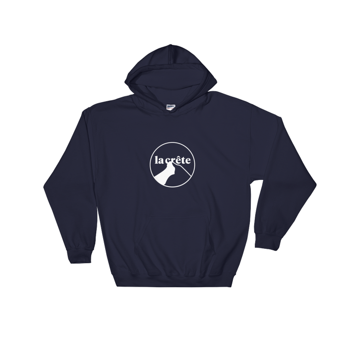 Nº3 Hooded Sweatshirt Dark - la crête