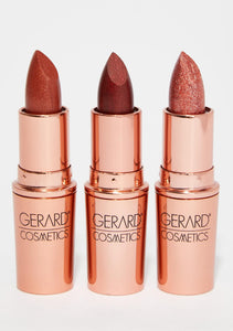 GERARD COSMETICS MATTE BULLET LIPSTICKS REVIEW
