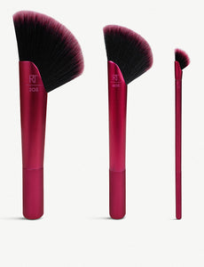 REAL TECHNIQUES Rebel Edge Trio make-up brush set