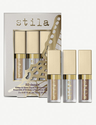 STILA 3D Dazzle Glitter & Glow Liquid Eyeshadow Set