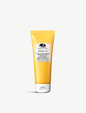 ORIGINS 10 Minute Hydrating Mask with Apricot & Swiss Glacier Water 100m