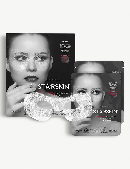 STARSKIN Lifting lace revamping meltaway eye masks