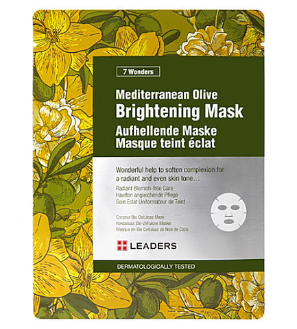 LEADERS Mediterranean olive brightening mask