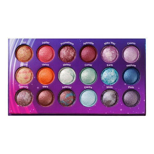 Galaxy Chic - 18 Color Baked Eyeshadow Palette