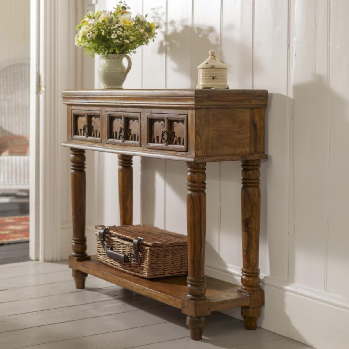 Solid Wood Console Table