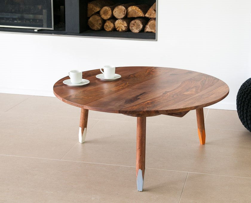 Pencil Solid Wood Coffee Table