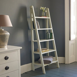 Eibar Solid Wood Ladder Design Bookcase
