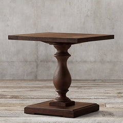 Melton Solid Wood End Table In Walnut Finish - Lakkadhaara