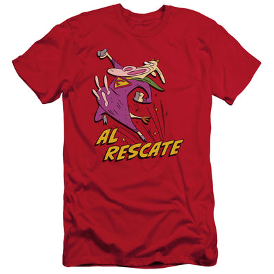 Cow And Chicken - Al Rescate Short Sleeve Adult 30/1