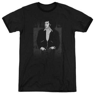 Elvis - Just Cool Adult Heather T-Shirt