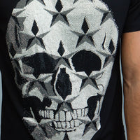 Studded Star Skull T-Shirt