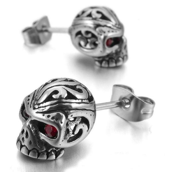 Osnein Skull Earrings