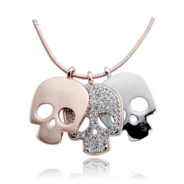 Lady Skull Necklaces